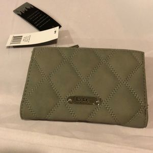 Nicole Miller NWT  gray wallet